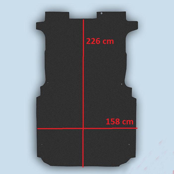 dimensions plancherPeugeot Expert