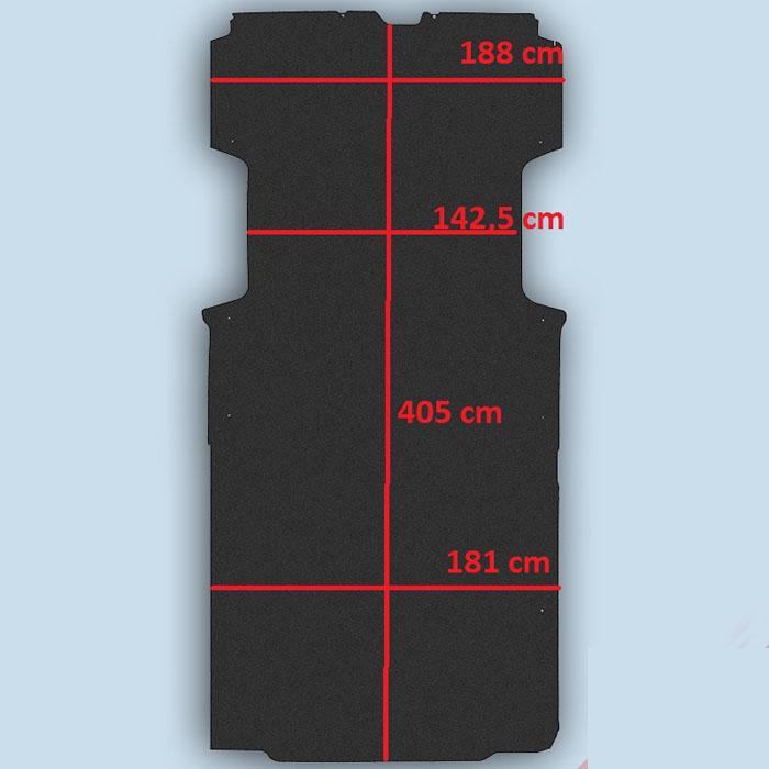 dimensions plancher Fiat Ducato L4