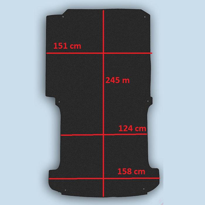 dimensions plancher T5 court
