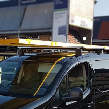 Barres de toit pour Ford Transit Courier
