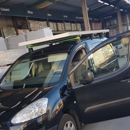Barres de toit pour Ford Transit Custom