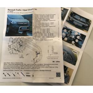 Fixation-pare-buffle-Opel-Vivaro