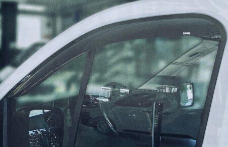 Déflecteur d'air pour fenêtres avant pour Dacia Dokker Van